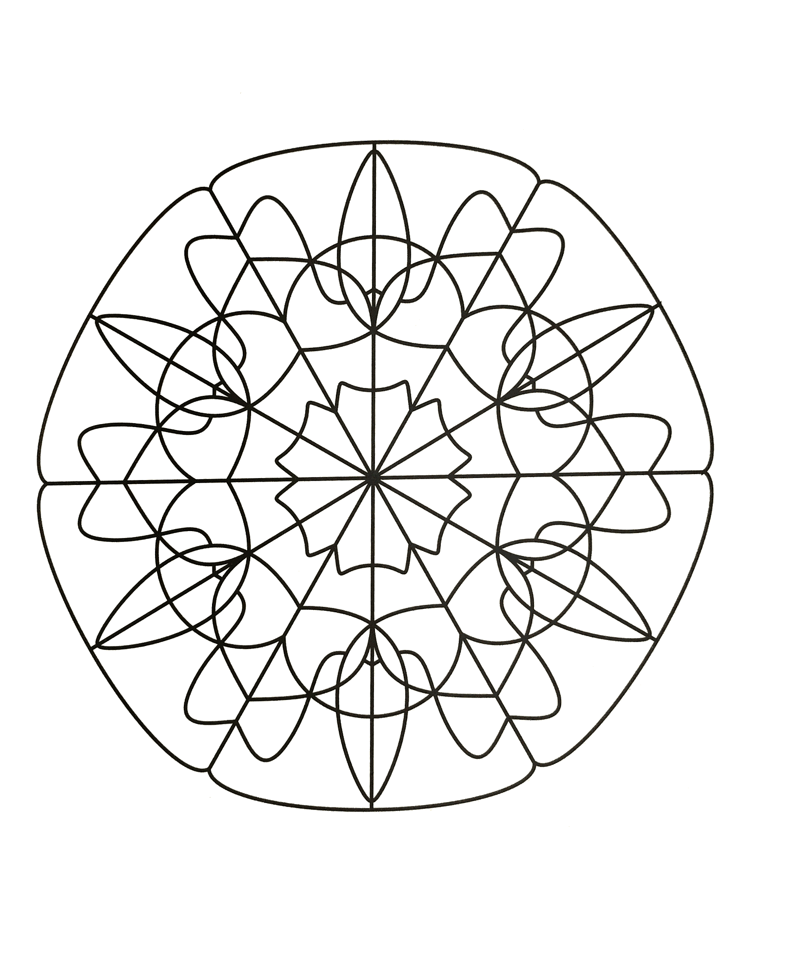 Offer yourself a parenthesis of Zen with this beautiful Mandala coloring page, with the colors that please you the most. You must clear your mind and allow yourself to forget all your worries and responsibilities.