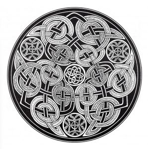 "Dark & complex ""Celtic Art"" Mandala"