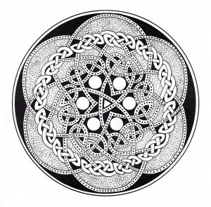 "Very complex ""Celtic Art"" Mandala"