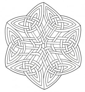 "Symmetric ""Celtic Art"" Mandala"