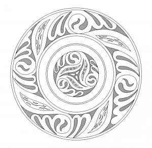 Unique celtic Mandala