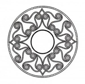 Celtic art incredible Mandala