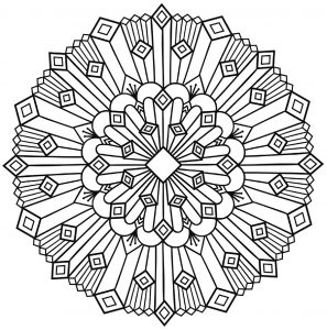 """Celtic Art"" Mandala with abstract patterns"