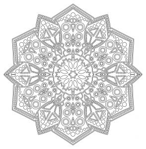 Complex & anti stress Mandala