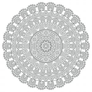 Regular & anti stress Mandala