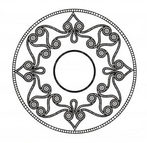 Incredible celtic Mandala