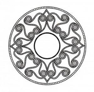 Magnificent celtic Mandala