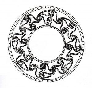 """Celtic Art"" Mandala"