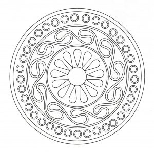 "Simple ""Celtic Art"" Mandala"
