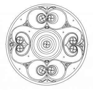 "Elegant ""Celtic Art"" Mandala"