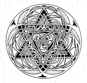 "Complex ""Celtic Art"" Mandala"