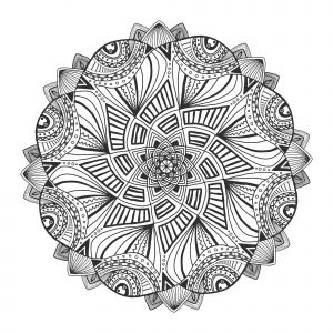 Incredible abstract & Geometric Mandala