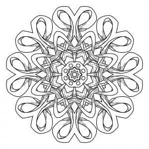Elegant abstract Mandala