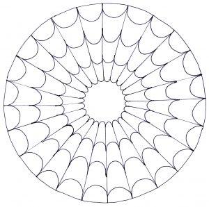 Cobweb Mandala