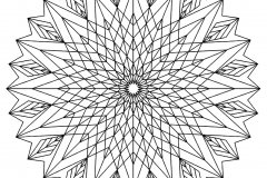 Mandala to color patterns geometric (3)