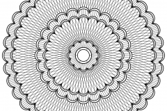 Mandala to color patterns geometric (4)