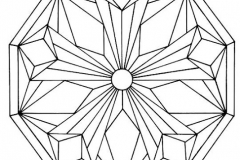 Mandala to color patterns geometric (5)