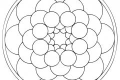 Mandala to color patterns geometric (6)