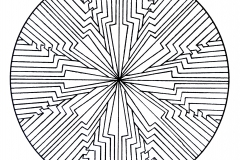Mandala to color patterns geometric (9)