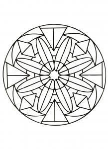 "Unique ""Zen"" Mandala"