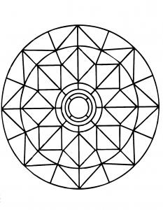 Zen Mandala with little designs