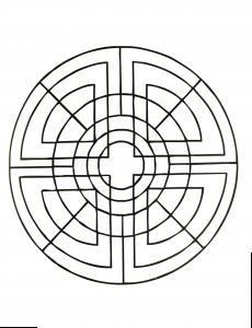 Geometric simple Mandala