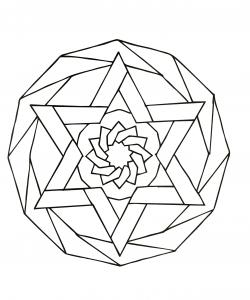 Unique & hypnotic Mandala