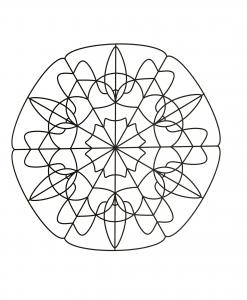 Strange & hypnotic Mandala