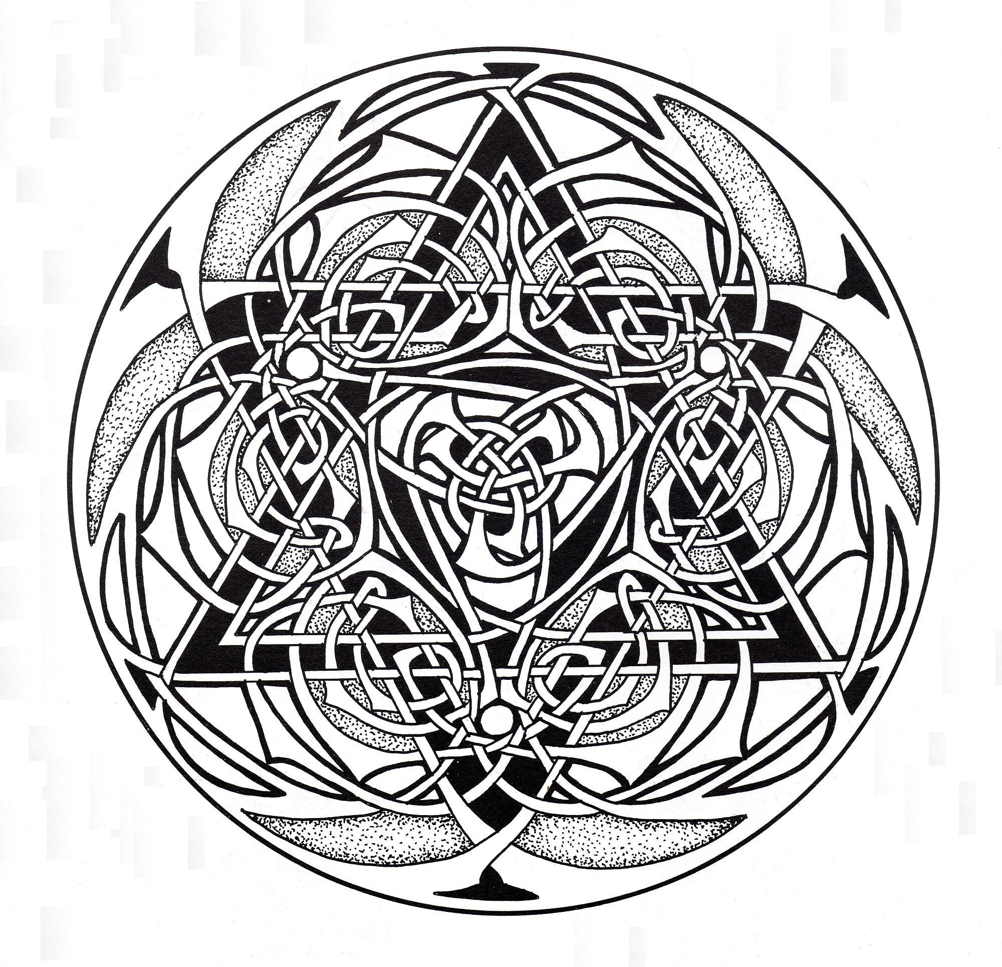 Celtic Mandala 9 Simple Mandalas