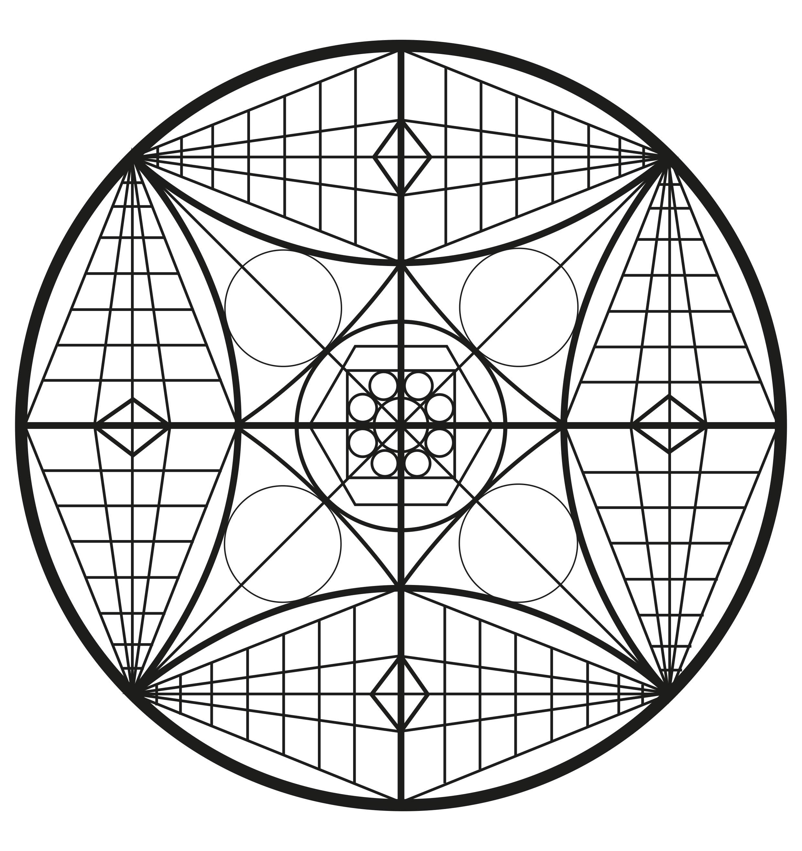complex abstract mandala simple mandalas 100 mandalas zen anti stress. Black Bedroom Furniture Sets. Home Design Ideas