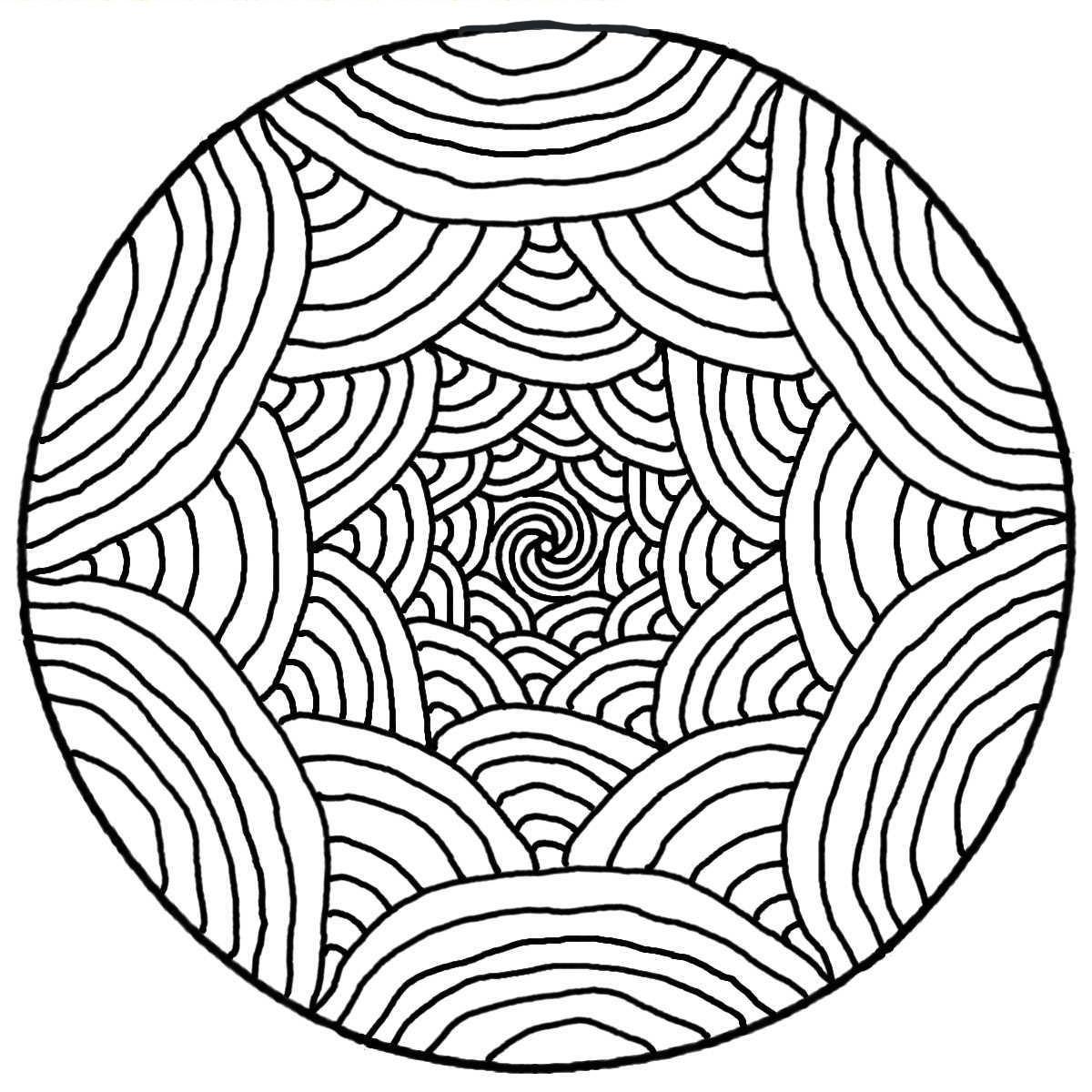 Mandala - Simple Mandalas - 100% Mandalas Zen & Anti-stress