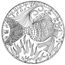 mandala poisson