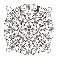 mandala-to-download-floral-abstraction free to print