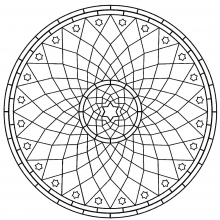 mandala-to-download-rosace free to print