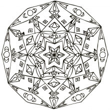 mandala-to-download-stars-and-diamonds free to print