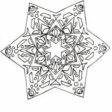 mandala-to-download-strange-star free to print