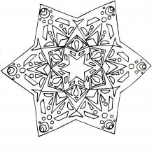 mandala-to-download-strange-star free to print