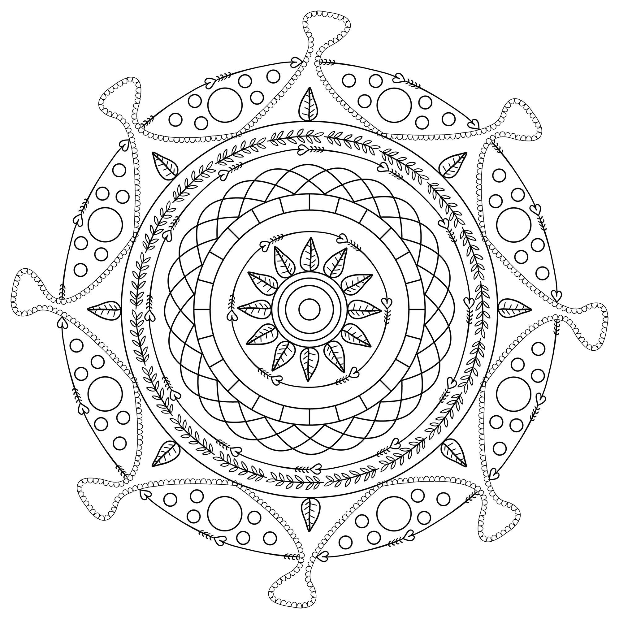 Free mandala mpc design 9 - Simple Mandalas - 100% ...