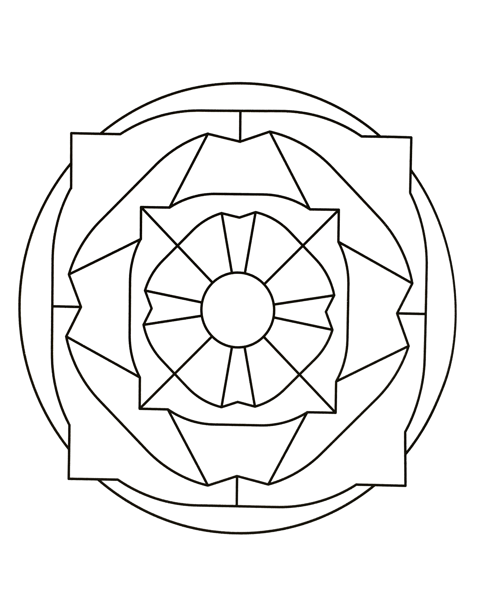 Mandalas to print free 16