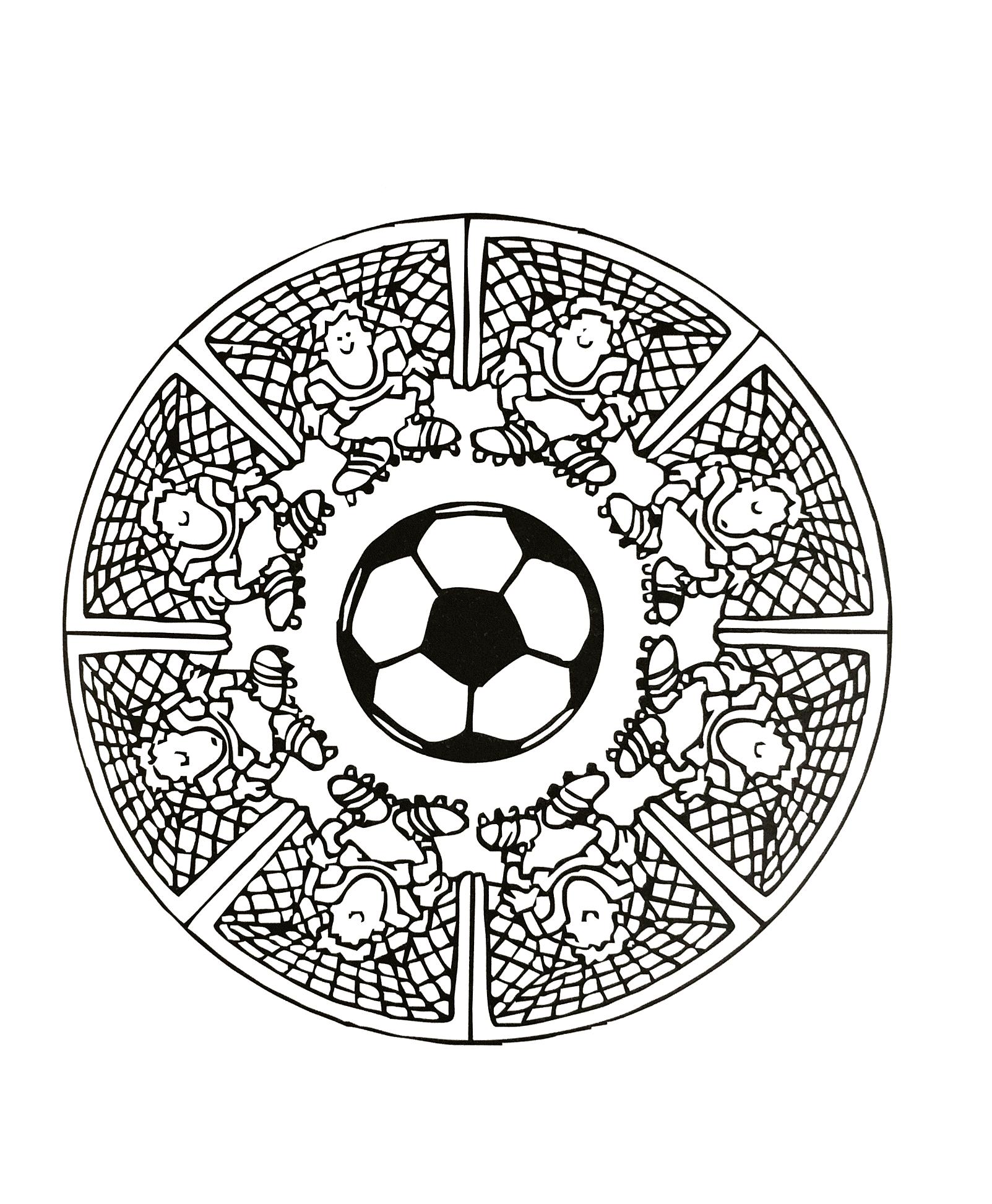 Nice Mandala De Foot A Imprimer #7: Mandalas-to-print-free (3) Free To Print