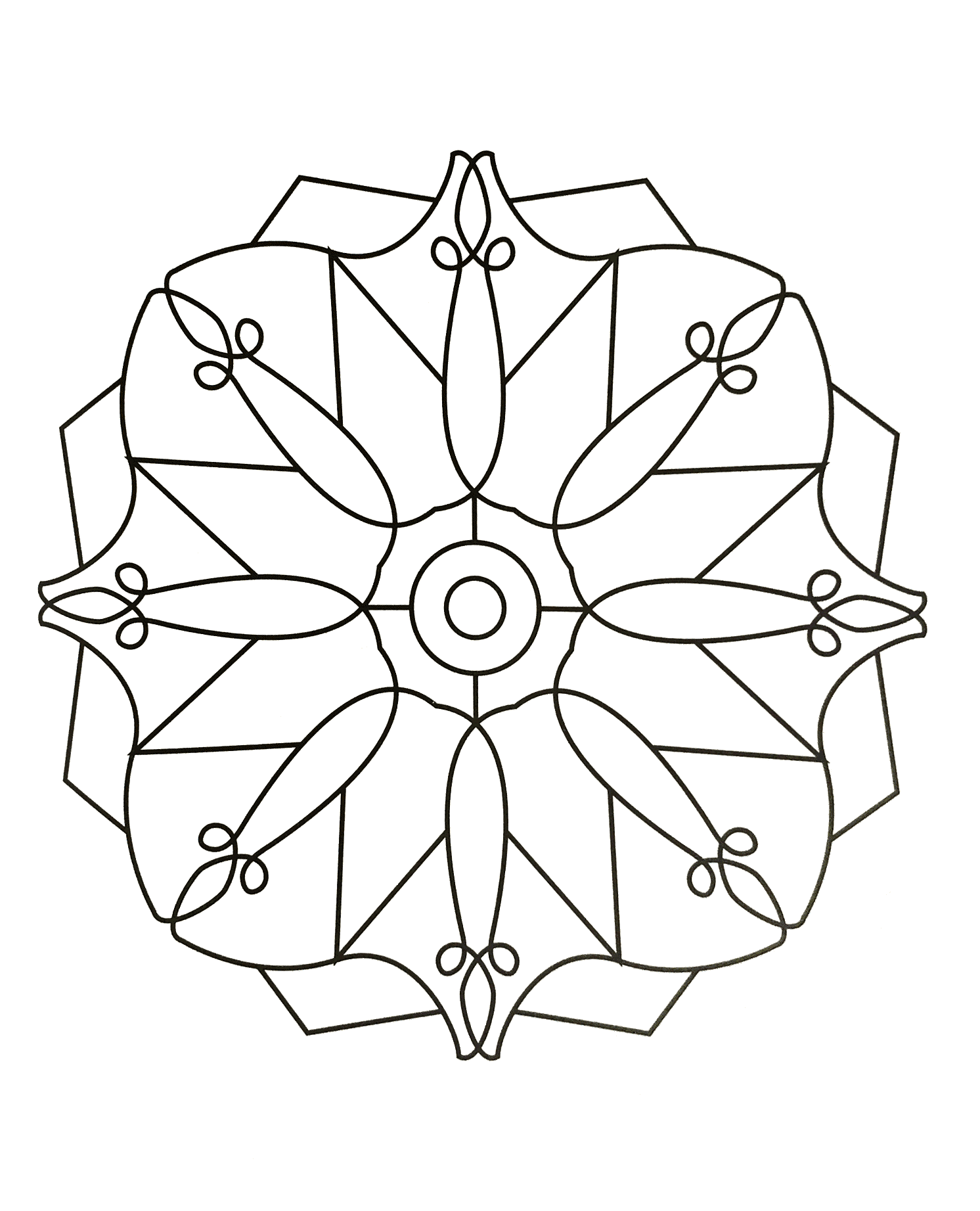 Mandalas To Print Free 33 Simple Mandalas 100