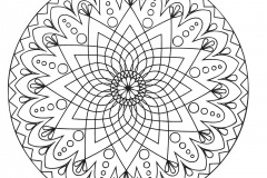 mandala-abstract-simple-with-a-star-in-the-middle