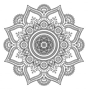 Mandala To Download Free Simple Flower Simple Mandalas