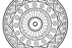 Mandala to color free to print (1)