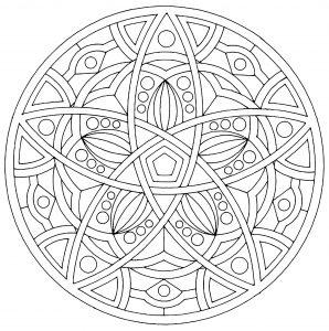 Mandala to print harmony