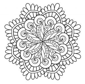 Mandala to print immortality