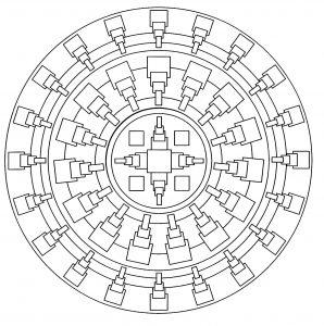 Simple Mandala   1