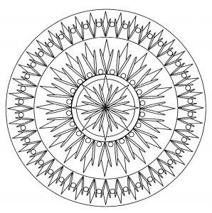 Simple Mandala   2