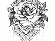 tattoo ideas with mandalas