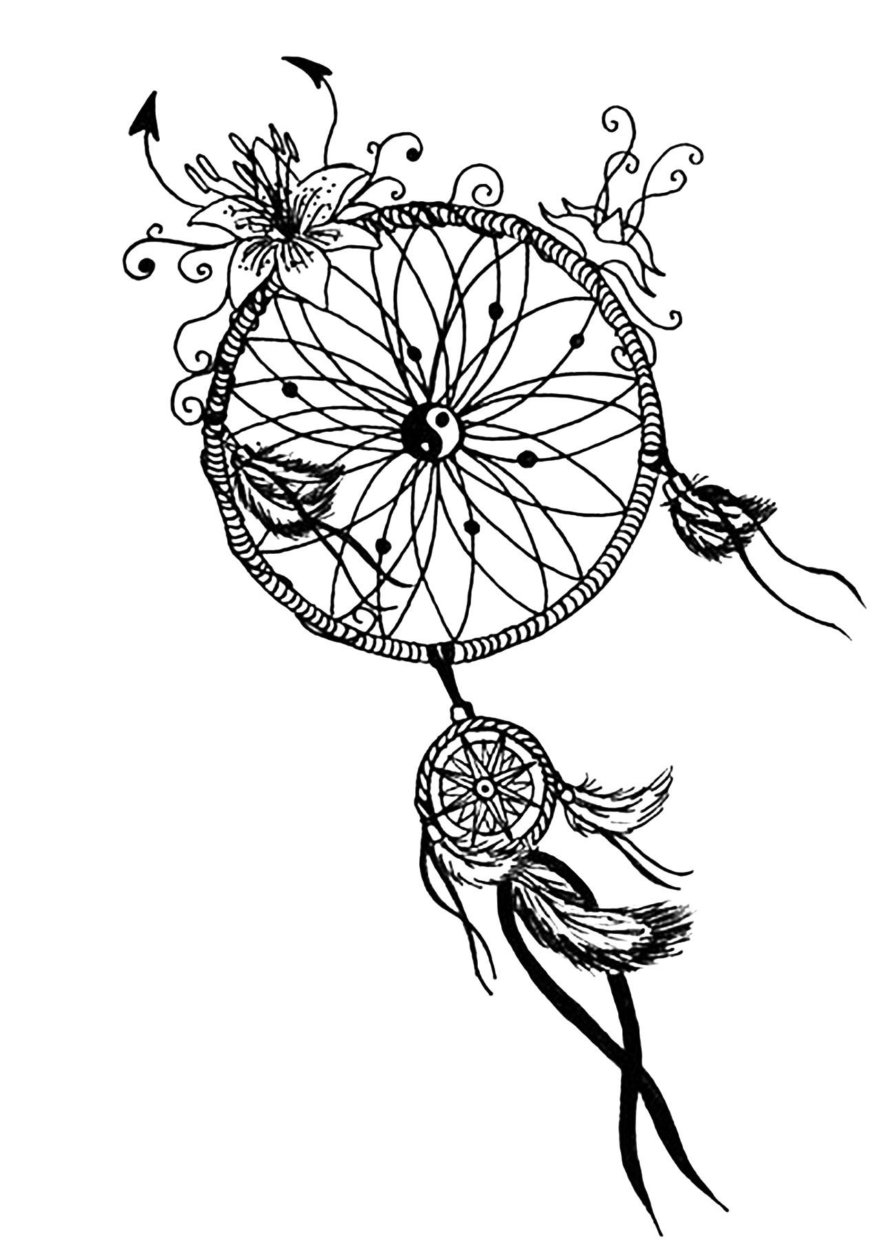 A 'Dreamcatcher' Mandala